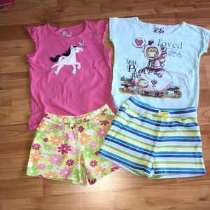 Gymboree shorts outfit 5-6